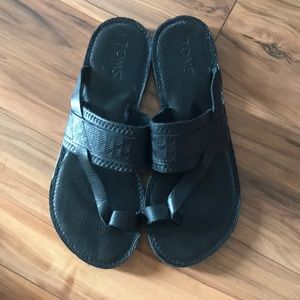 Leather Tom sandals